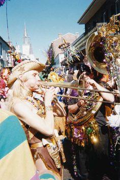 Mardi Gras in New Orleans, Louisiana, USA