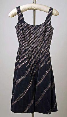 Cocktail dress 1952-53 Patou