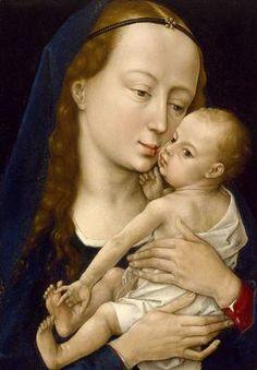 artists, vans, museums, van der, der weyden, houston, rogier van, children, madonna