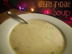 Never The Same Spice Twice: Creamy Artichoke Soup