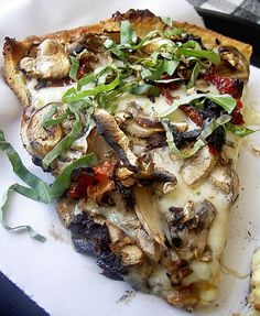 Weight Watchers Grilled Mushroom Pizza Recipe