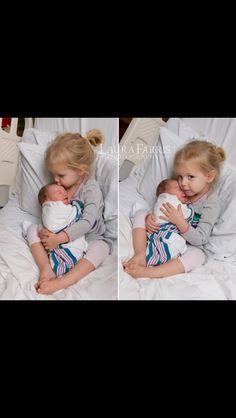 Sibling hospital photo