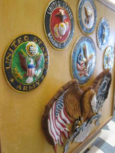 Honor those who served and those who currently serve with this great handcrafted leather Some Gave All Military Tribute created by James Geigan of James D Geigans Leathercraft and On sale NOW at Standing Bear's Trading Post 7624 Tampa Avenue, Reseda, CA. 91335 for $250 Call us at 818-342-9120