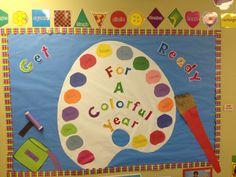 preschool bulletin board