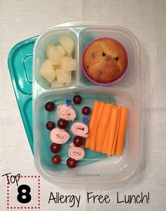 Keeley McGuire: Lunch Made Easy: {Allergy Friendly} School Lunch Boxes