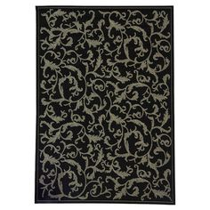 Powder room | Ivy Indoor/Outdoor Rug at Joss & Main