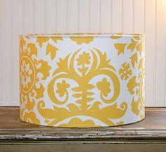 Sunshine Drum Lampshade by Sassyshades on Etsy, $75.00