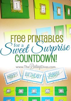 Envelope Surprise!  Perfect for Father's Day or birthdays.  AND it includes all the free printables you'll need- printable letter, matching coupons and numbers, and everything!