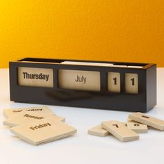 This is a calendar I would actually use!