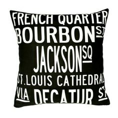 New Orleans pillow <3