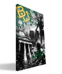 Take a look at this #Baylor Spirit Wall Art by Paulson Designs on #zulily today!