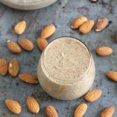 Homemade Maple Almond Butter