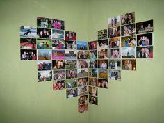 corner heart collage