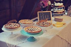 We could also do a pie/cake bar instead (who cares about being healthy??)