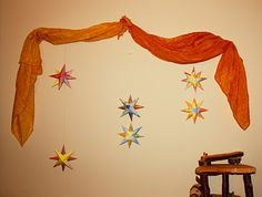 3 kings day star garland