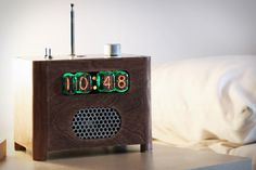an alarm clock you have to defuse with a code..... what is there not to love