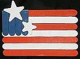 Wooden Flag- 4th of July