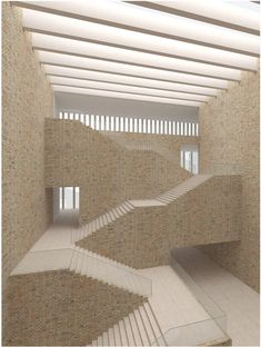 New cultural center in Venice-Mestre. David Chipperfield #architecture #stairs