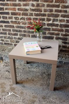 Repaint white desk... How to paint laminate furniture tutorial: Don't pass up that great piece of furniture just because it's the wrong color!