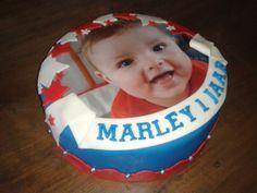 Marley's eerste verjaardags taart