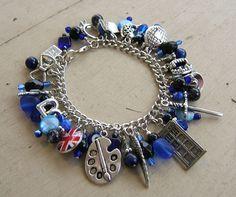 Eleventh Doctor Charm Bracelet.