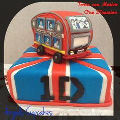 Torta de Cumpleaños de One Direction para Katherina