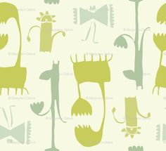 i love these simple imaginary creatures.