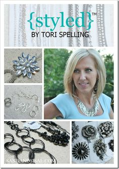 Create your own jewelry (no skills required!)- Styled by Tori Spelling Collection
