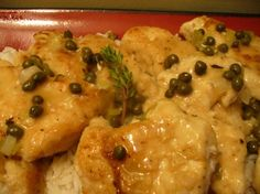 Chicken in White Wine Sauce