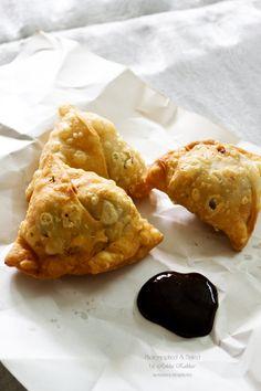 Baked Punjabi Samosa Recipe