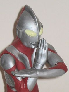 Ultraman 9 inch Banpresto Figure close up by wildbill20004, via Flickr