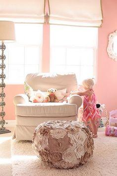 Love this little girl room!