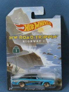 Hot Wheels HW Road Trippin' Highway 1 '69 Dodge Charger