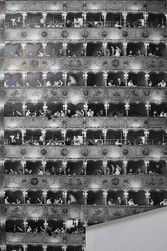 Opera House Wallpaper #anthropologie