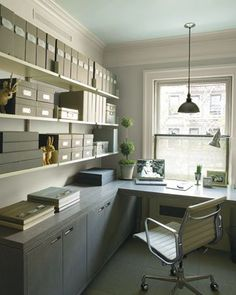 organized office!