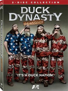 Duck Dynasty Season 4 on Blu-ray and DVD from January 7
