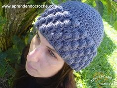crochet hat - without English subtitles