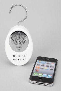 Sound Splash wireless waterproof shower speaker with built-in rechargeable battery
