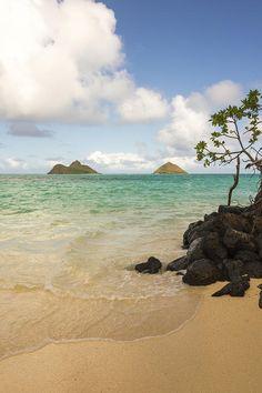 ✯ Lanikai Beach - Oahu, Hawaii I love this beach!