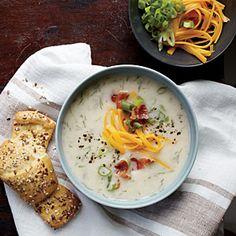 Loaded Mashed Potato Soup | MyRecipes.com