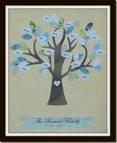 decor, gift, tree idea, family trees, art, famili tree, craft idea, families, famili galleri