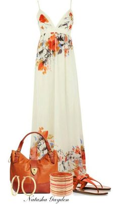 amazing maxi summer dress. Would look even cuter with my jean jacket.