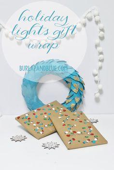 holiday lights gift...