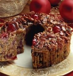Rich Fruit Cake Recipe - Southern Christmas Fruitcake - http://specialycookies.c...