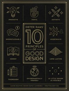 Ten Design Principles by Dieter Rams