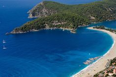 Fethiye is a very traditional Turkish market town that is spread around a beautiful natural harbour on a wide bay