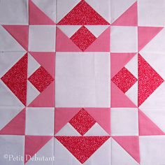This block can be crocheted using granny squares.