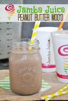 Copy Cat Recipe: Jamba Juice Peanut Butter Mood