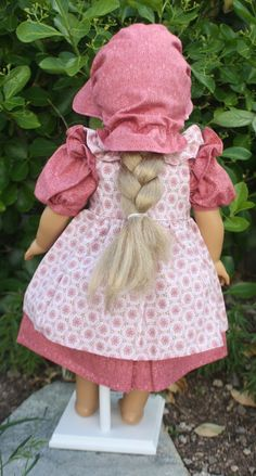 American Girl Prairie Dress in Rose by RuthielovestoSew on Etsy