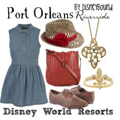 Port Orleans - Riverside, created by lalakay.polyvore.com